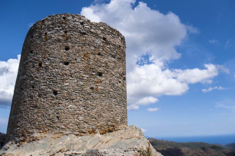 Corsica, Corse, Cap Corse, Hogere Corse, Frankrijk, Europa, eiland royalty-vrije stock afbeelding