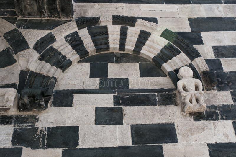 San Michele de Murato, church, Murato, Haute-Corse, Corsica, France, island, Europe stock photo