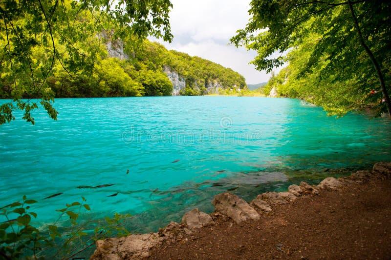 corsica góry creno de France lac jeziorne halne góry zdjęcia stock