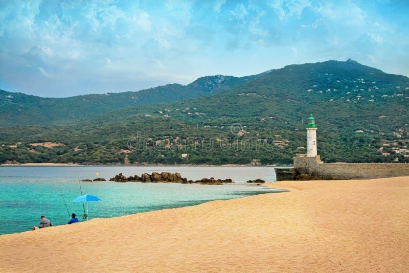 Corsica - het Eiland van Schoonheid, Frankrijk royalty-vrije stock foto