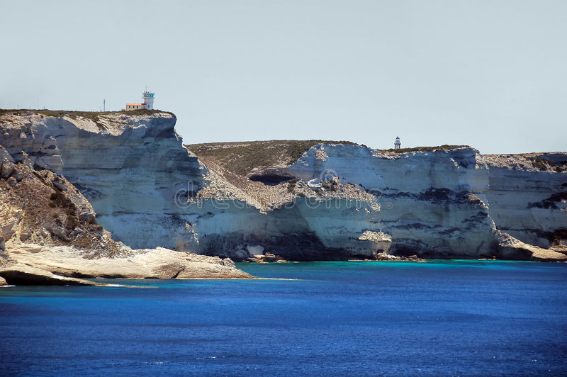 Corsica holidays royalty free stock photography