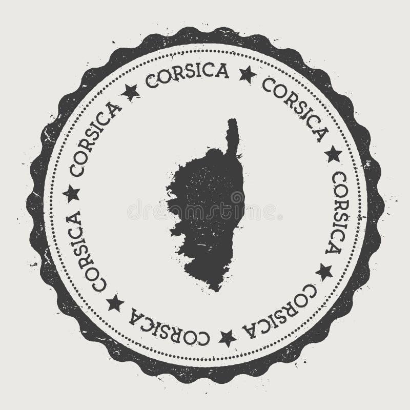 Corsica majcher ilustracja wektor