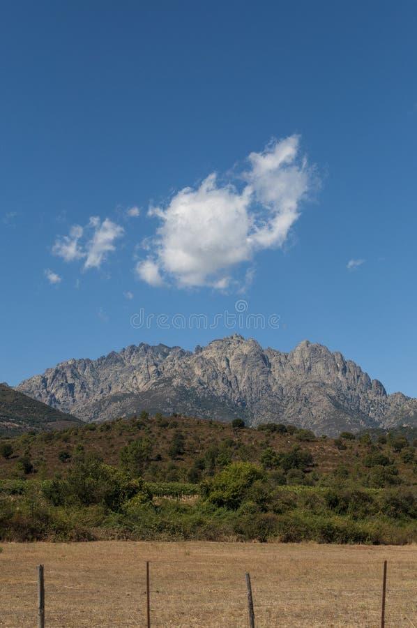 Corsica, Mount Cinto, wild landscape, Haute Corse, Upper Corse, France, Europe, Haut Asco, Asco Valley, High Center of Corsica. Corsica, 31/08/2017: the wild stock photography