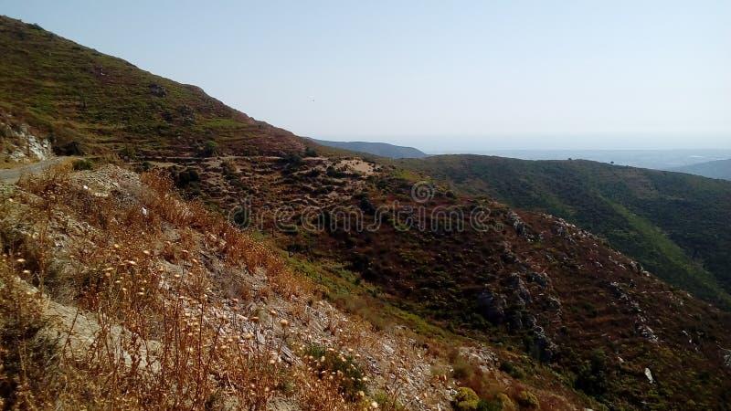 Corsica& x27; s-paysages royaltyfri foto