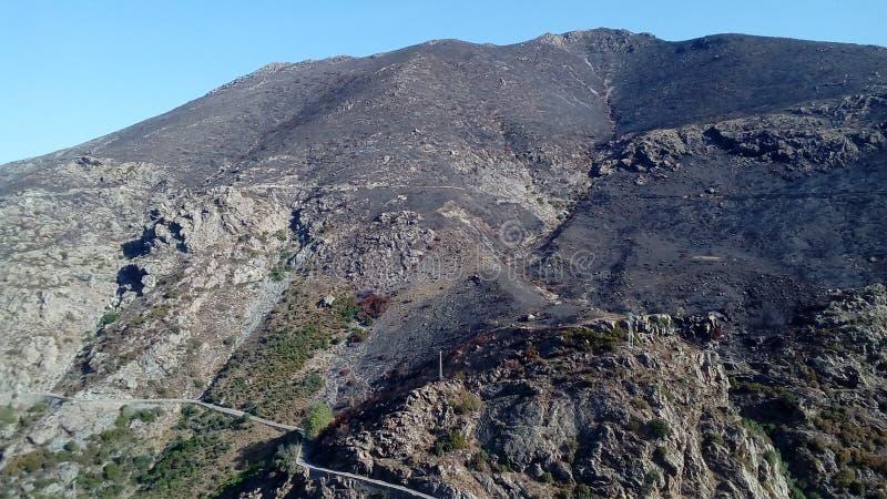 Corsica& x27; s-paysages arkivbilder