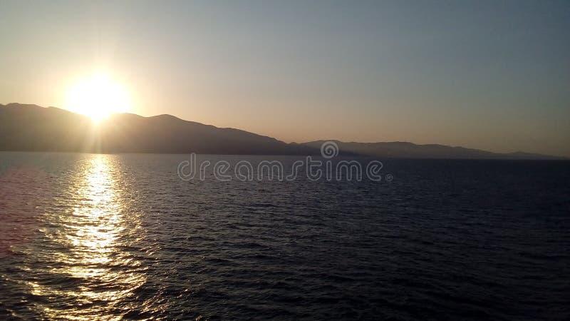 Corsica& x27; s-paysages royaltyfri fotografi