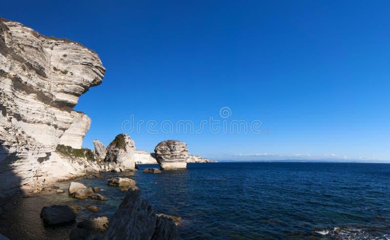 Bonifacio, Corsica, Corse, Corse-du-Sud, south, France, Europe, island royalty free stock images