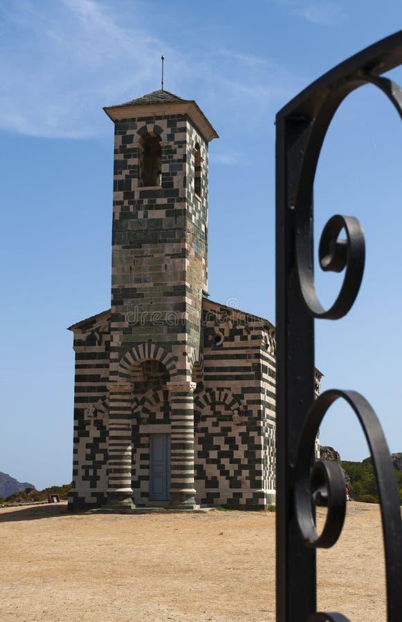 San Michele de Murato, church, Murato, Haute-Corse, Corsica, France, island, Europe. Corsica, 29/08/2017: view of the Church of San Michele de Murato, a small stock images