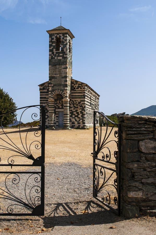 San Michele de Murato, church, Murato, Haute-Corse, Corsica, France, island, Europe royalty free stock image