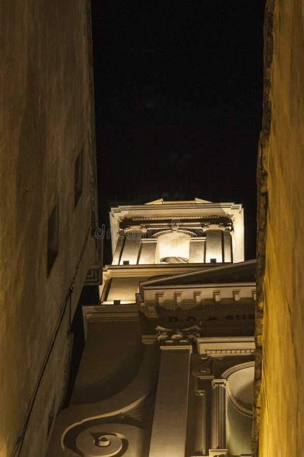 Bastia, Corsica, Cap Corse, skyline, church, Saint John the Baptist, ancient. Corsica, 03/09/2017: view of the parish church of Saint John the Baptist, the stock photos