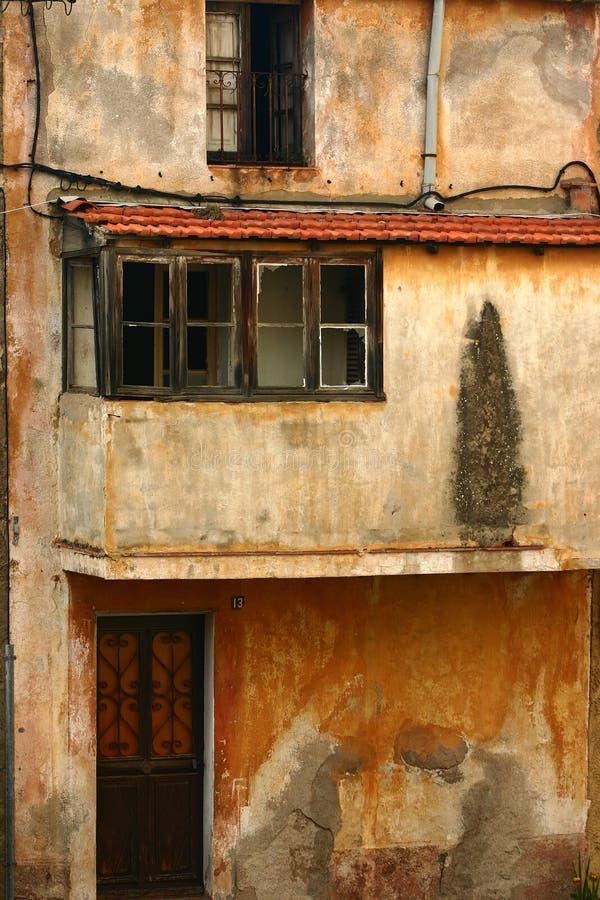 corsican domy budynku. obrazy royalty free