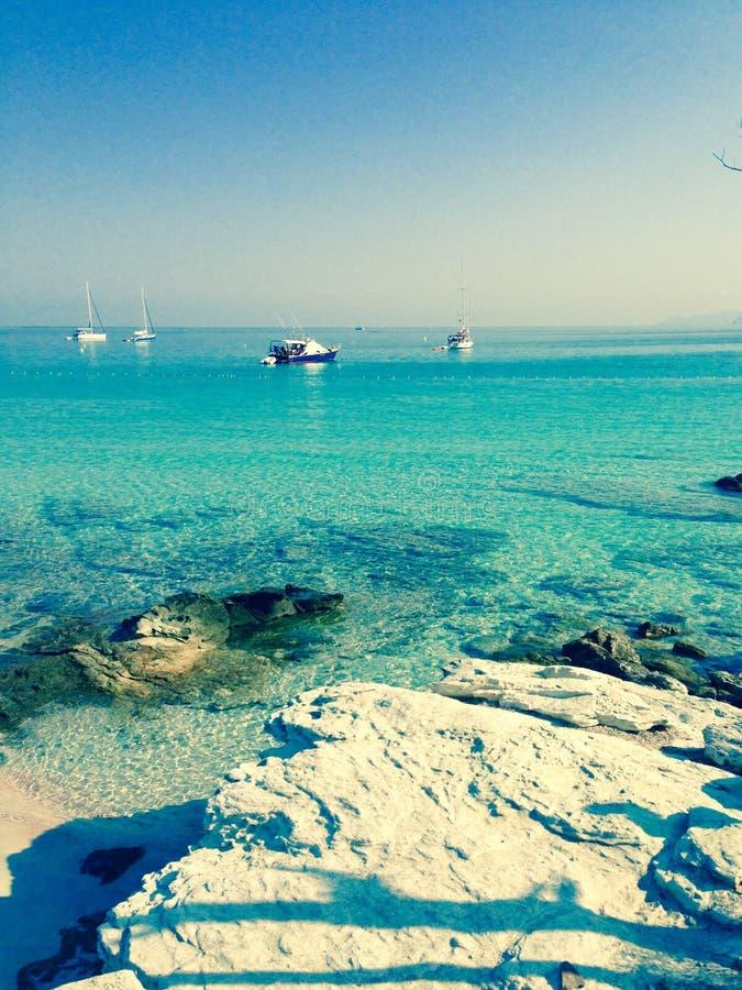 Corsican sea royalty free stock image