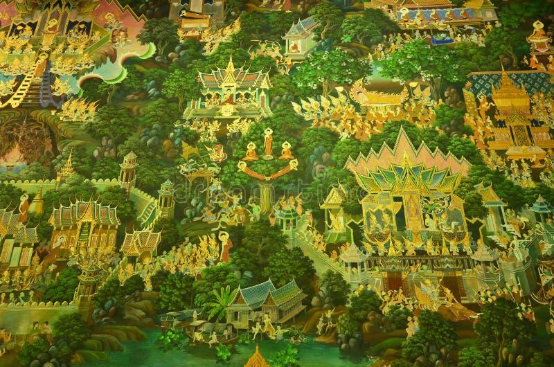 Corso della vita del Buddha fotografie stock