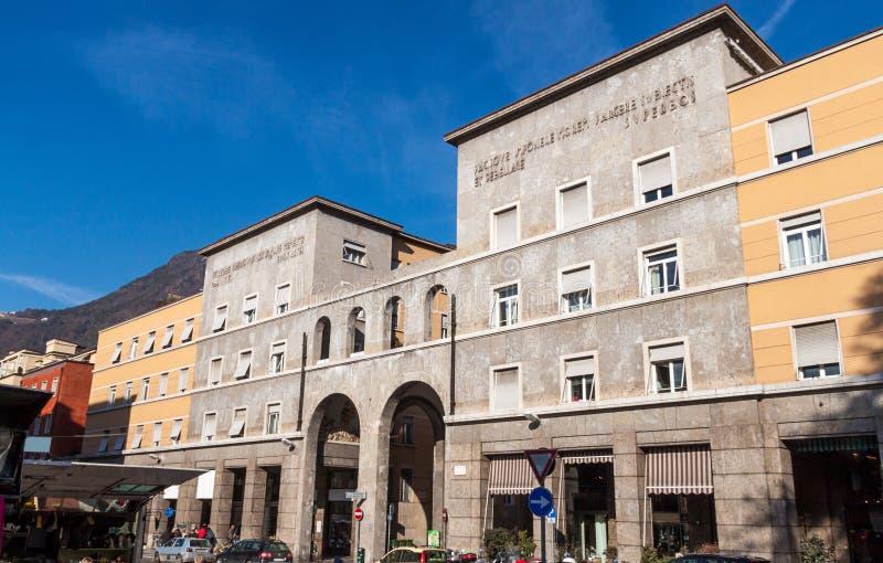 Corso di libertà a Bolzano fotografie stock libere da diritti