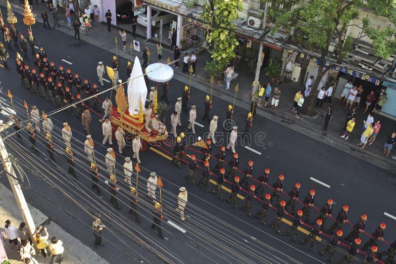 Cortège religieux en Thaïlande images stock