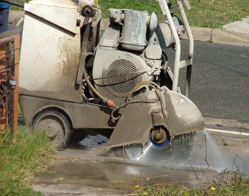 Download Cortador concreto imagem de stock. Imagem de lâmina, construção - 106041