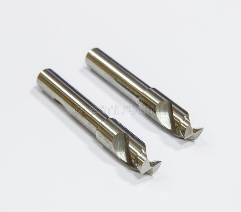 Cortadores de trituração imagem de stock