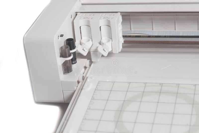 Cortando el trazador aislado en el fondo blanco foto de archivo libre de regalías