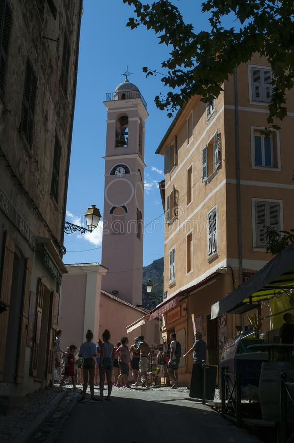 Corte, ακρόπολη, Annunciation εκκλησία, Κορσική, Κορσική, ΚΑΠ Κορσική, η ανώτερη Κορσική, Γαλλία, Ευρώπη στοκ εικόνες