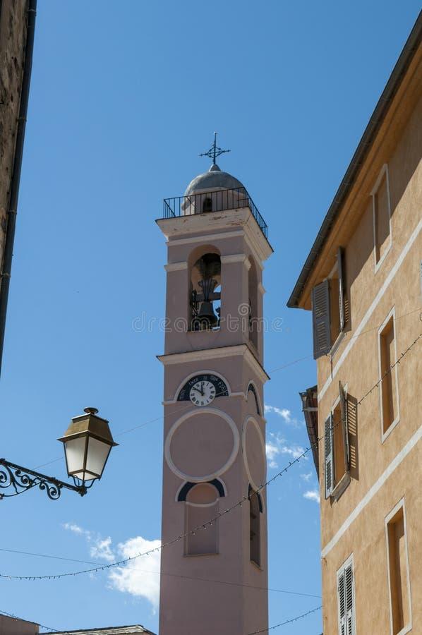 Corte, цитадель, церковь аннунциации, Корсика, Corse, крышка Corse, верхнее Corse, Франция, Европа стоковые фото