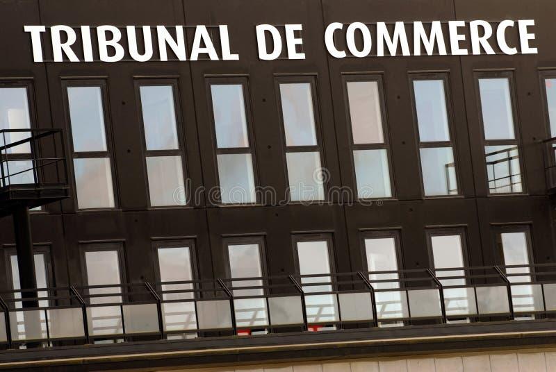 Corte comercial francesa imagem de stock royalty free