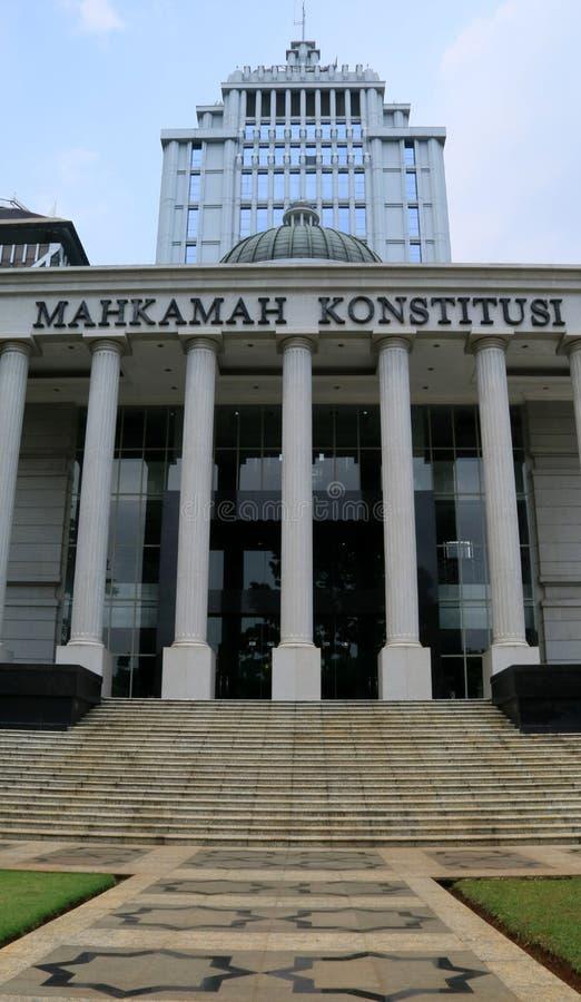 Corte costituzionale fotografia stock