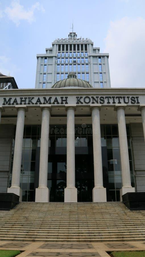 Corte costituzionale fotografie stock