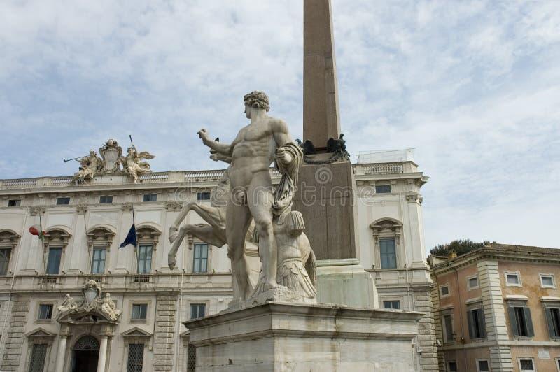 Corte costituzionale del della Consulta di Palazzo o dell'Italia immagini stock