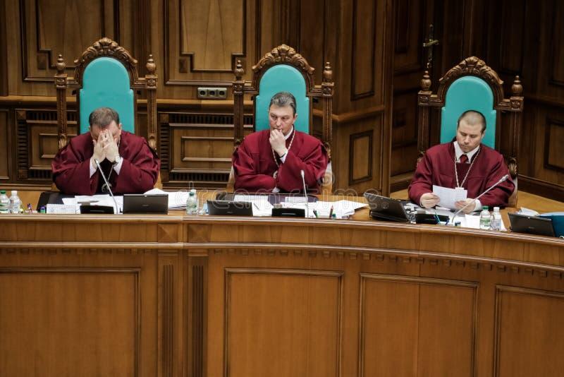 Corte costituzionale dell'Ucraina fotografie stock libere da diritti