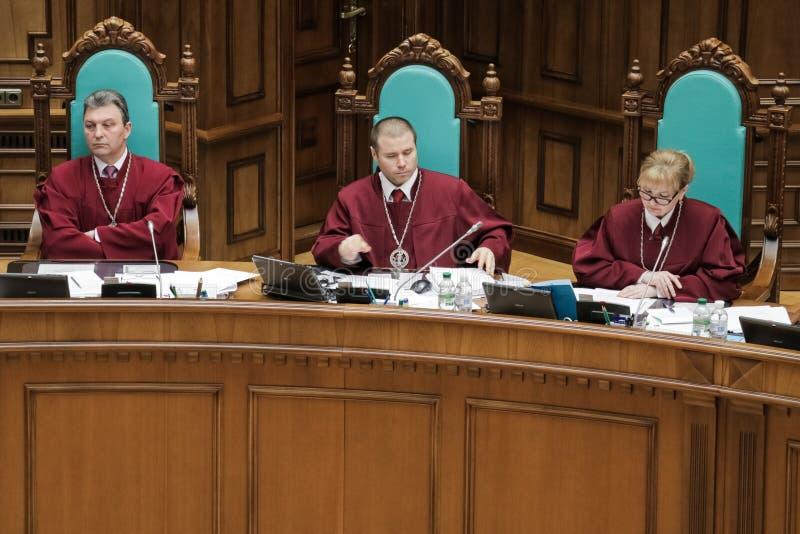 Corte costituzionale dell'Ucraina fotografia stock libera da diritti
