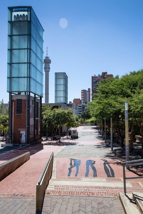 Corte costituzionale a Johannesburg fotografie stock libere da diritti