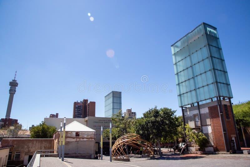 Corte costituzionale a Johannesburg immagini stock
