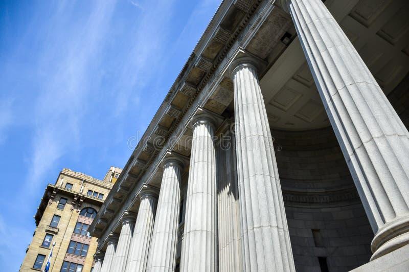 Corte d'Appello in città nella regione della Quebec immagine stock libera da diritti