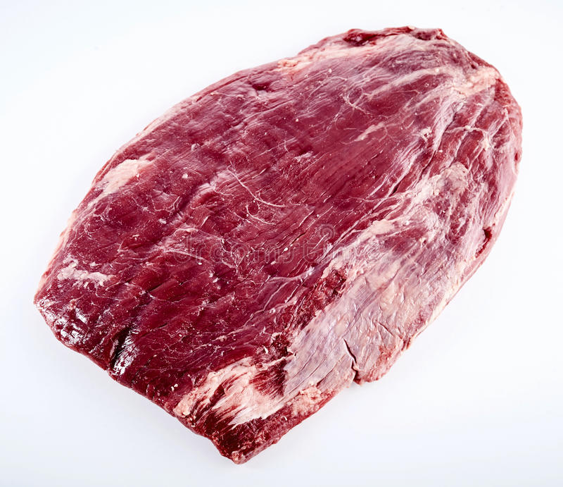 Corte da prima do acém amadurecido cru da carne fotografia de stock royalty free