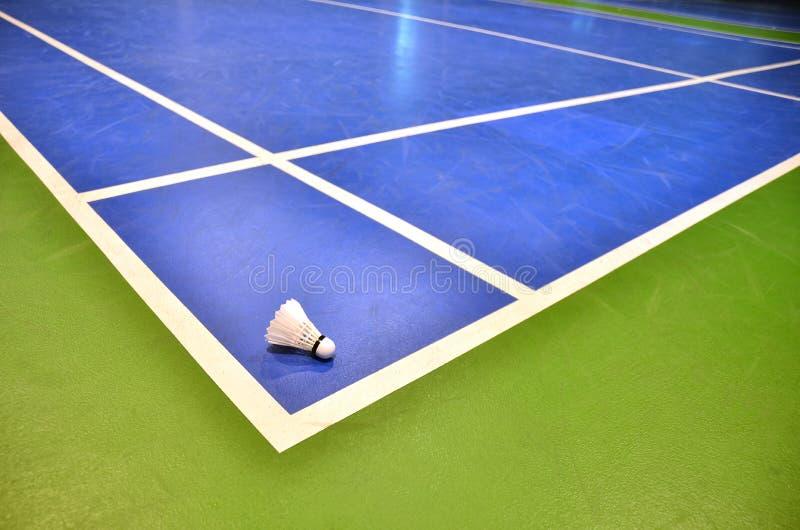 Corte de badminton imagens de stock royalty free