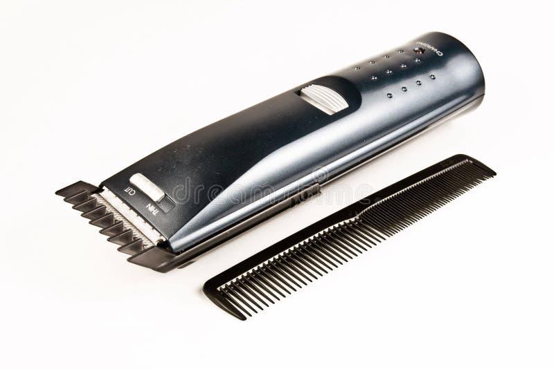 Corte de cabelo e cabeleireiro imagem de stock