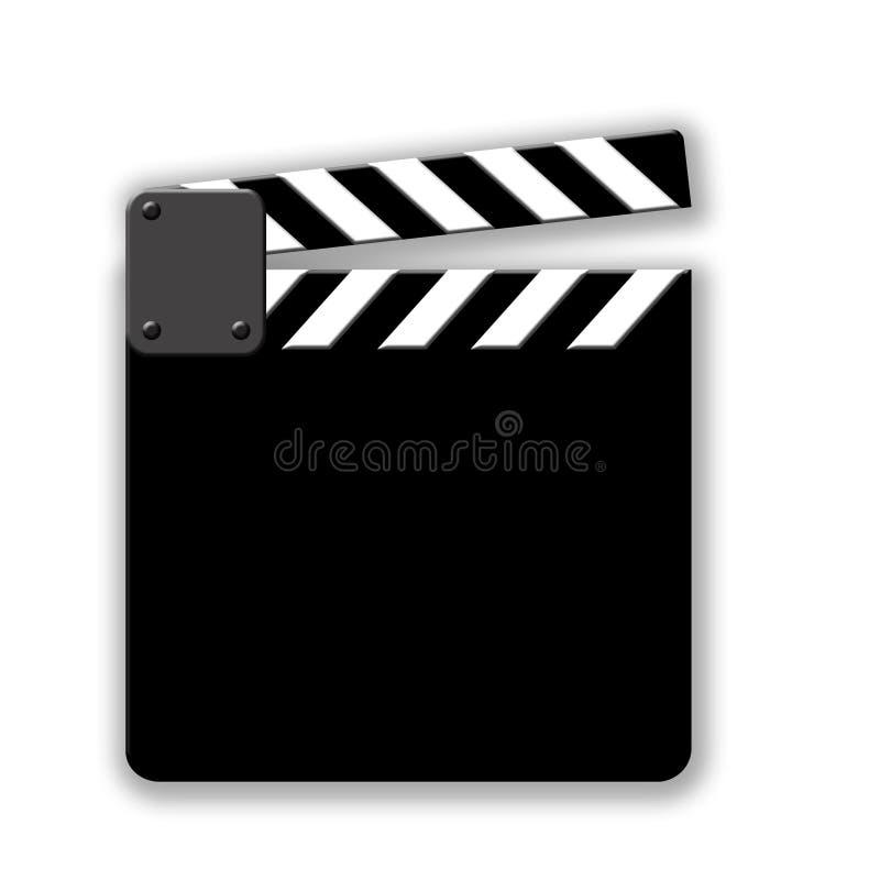 Corte de la película ilustración del vector