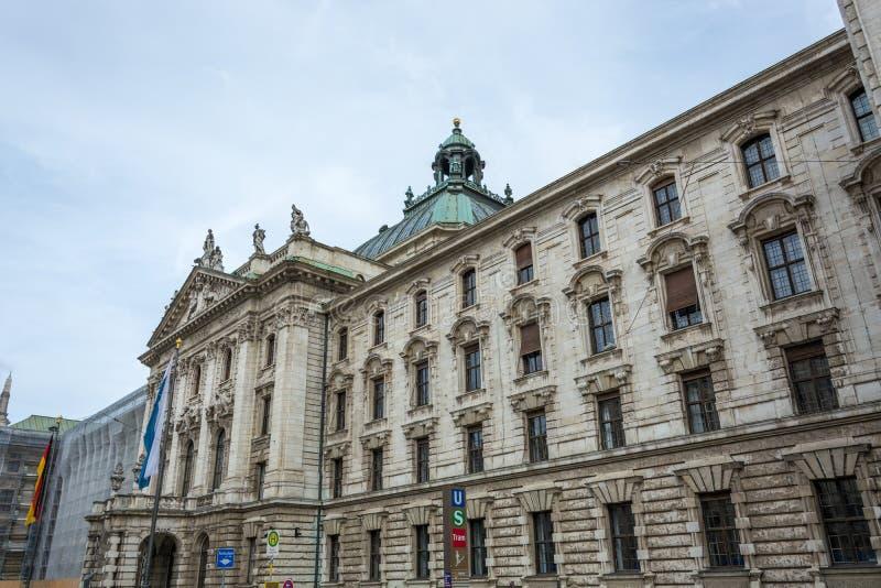 Corte de la tierra en Munich del lado fotografía de archivo libre de regalías
