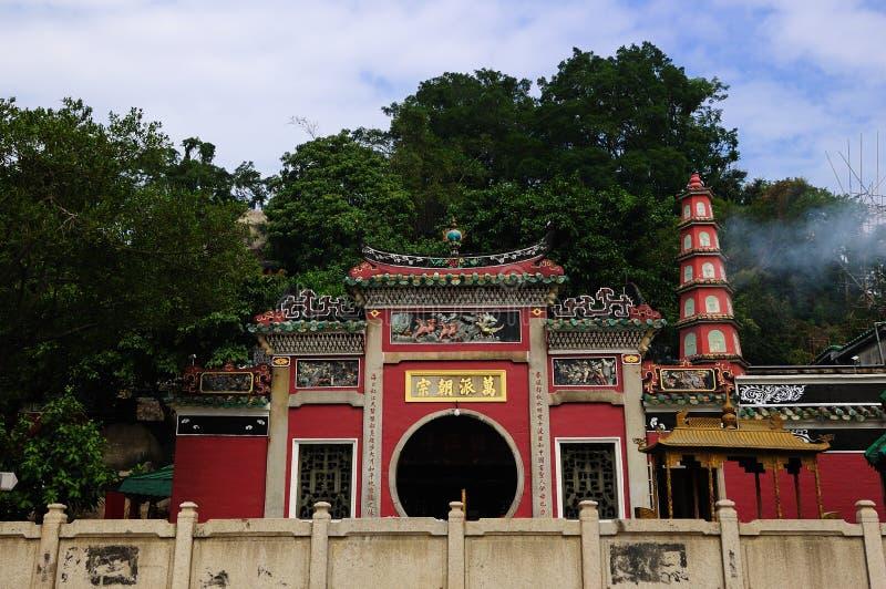 Corte de Macao Mazu fotografía de archivo