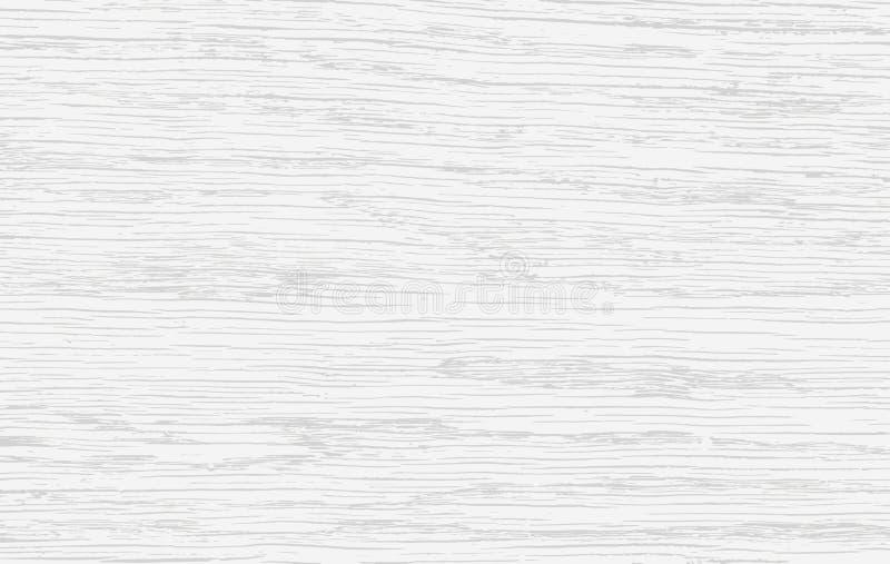 Corte de madera blanco, tajadera, tabla o superficie del piso Textura de madera Ilustración del vector libre illustration