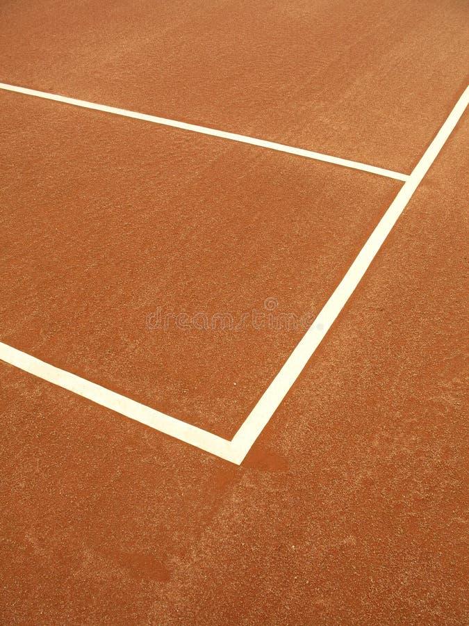 Corte de tênis - 1 fotos de stock royalty free