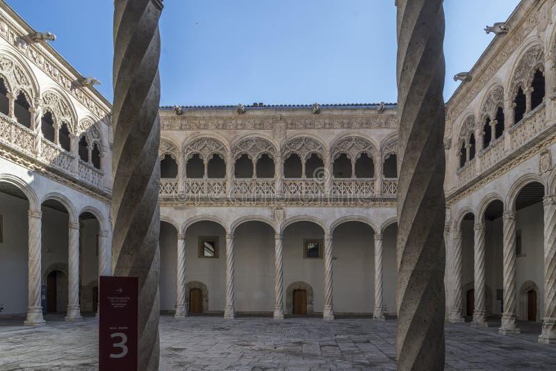 Corte de Valladolid de San Gregorio foto de archivo libre de regalías