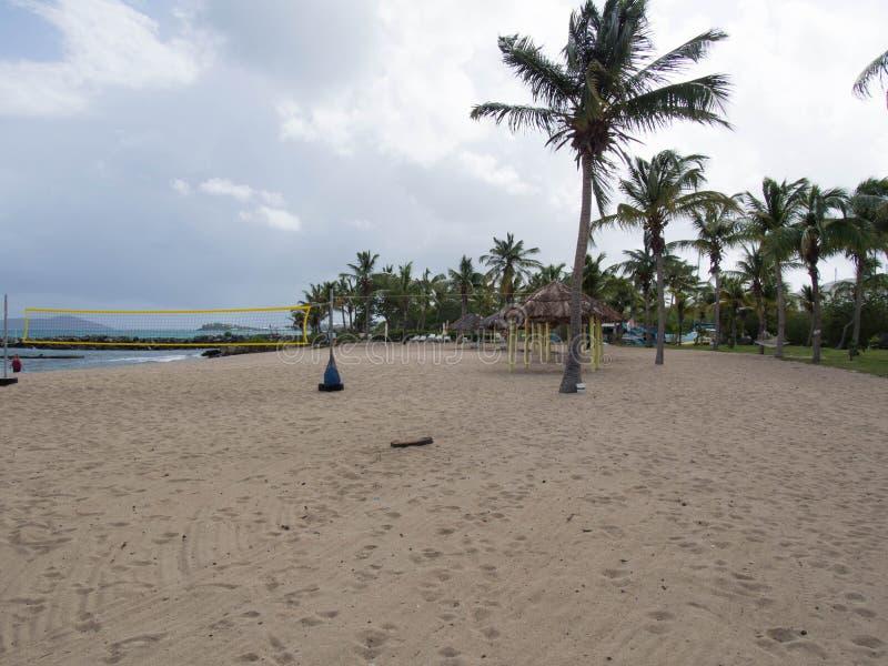 Download Corte De Voleibol Da Praia Em St Croix Imagem de Stock - Imagem de croix, unido: 65576451