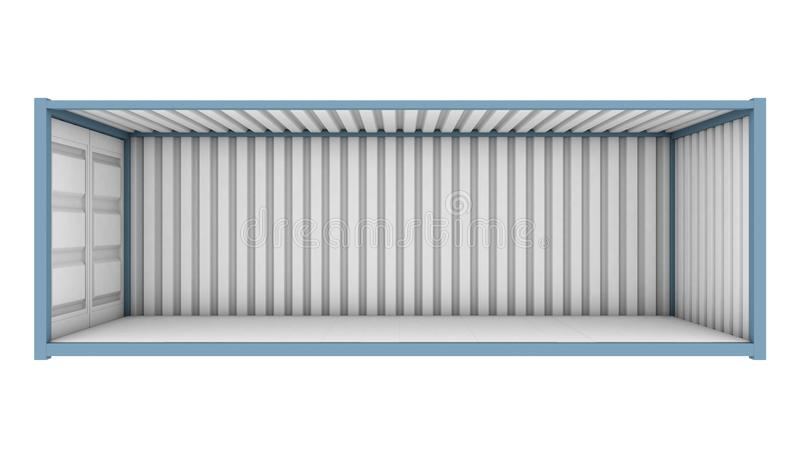 Corte del contenedor libre illustration