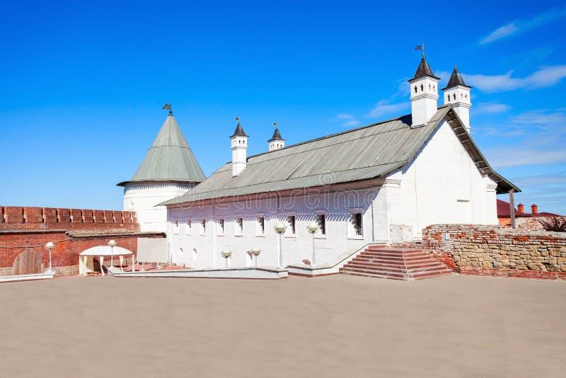 Corte dell'artiglieria, Cremlino di Kazan immagine stock