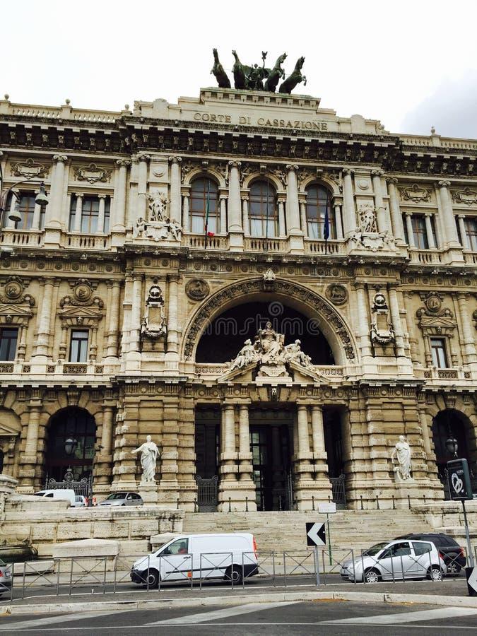 Corte Di Cazzione, Ρώμη στοκ εικόνες