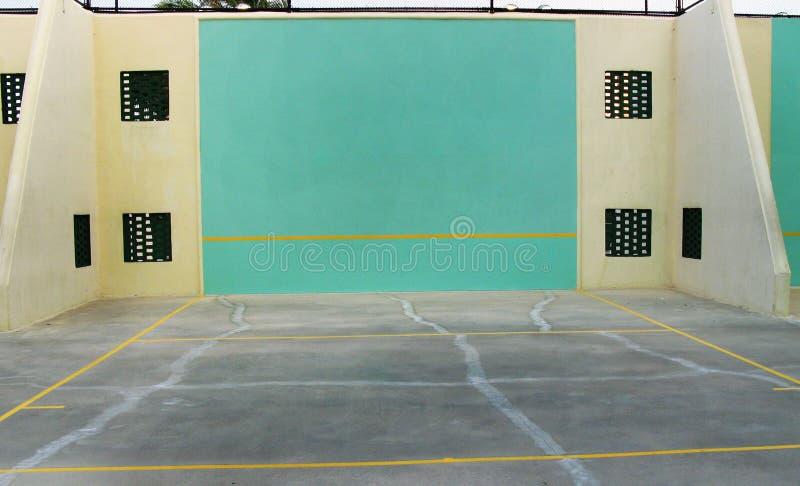 Corte di pallamano e di racquetball immagine stock