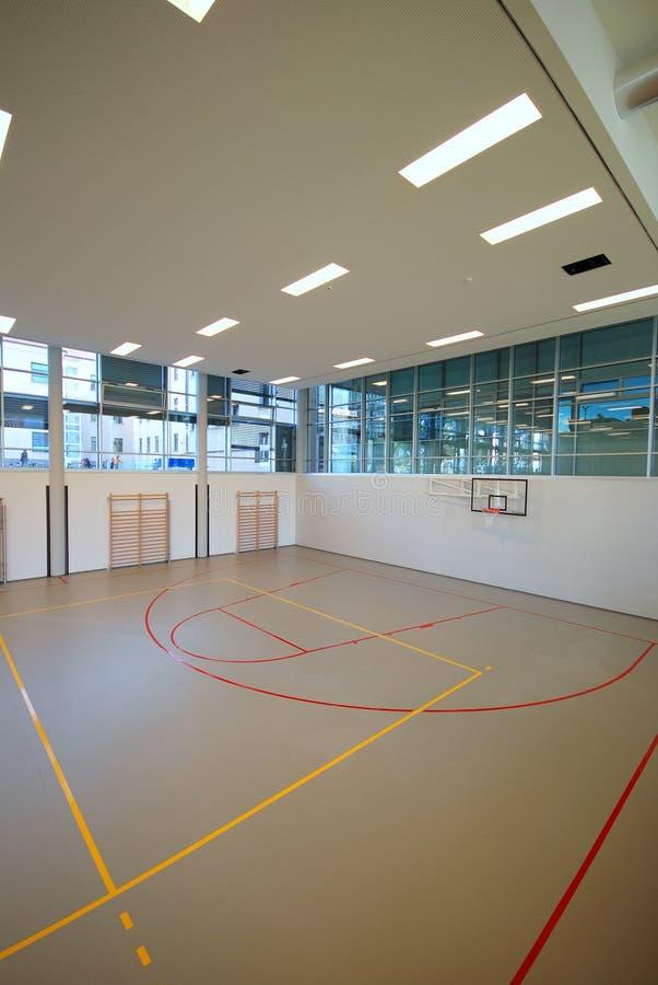Corte di sport - dell'interno fotografia stock