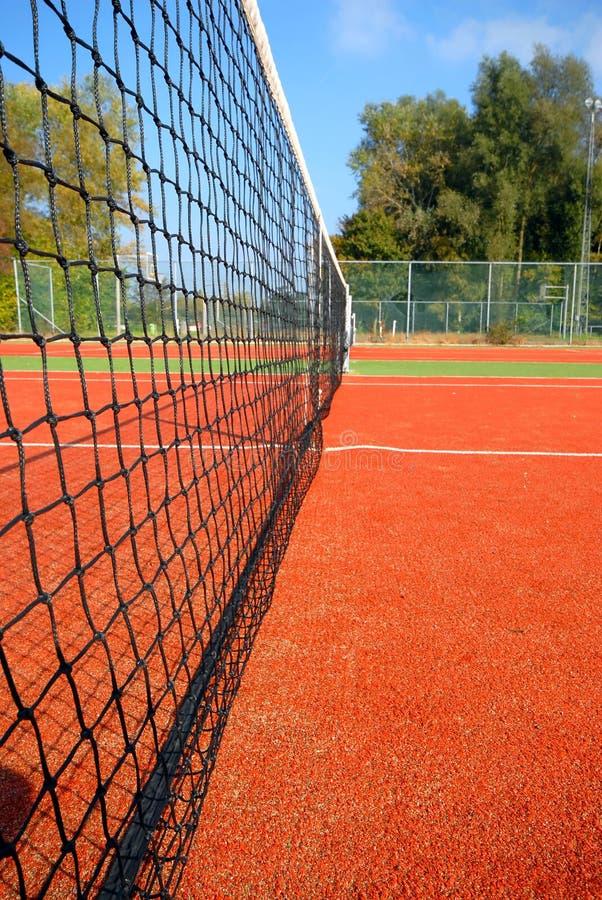 Corte di tennis immagine stock
