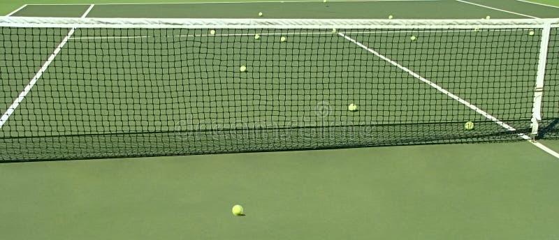 Corte di tennis. fotografia stock libera da diritti